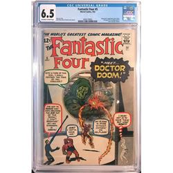 """Fantastic Four"" comic issue #5 ."