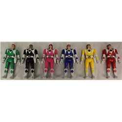 MIGHTY MORPHIN POWER RANGERS AUTO MORPHER FIGURES