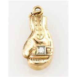 Professional Boxing Association Yellow Gold Boxing glove.