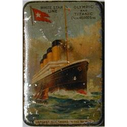 White Star Line, Cadbury Bournville tin.