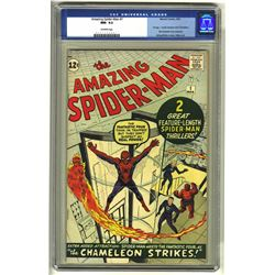 THE AMAZING SPIDER MAN NUMBER 1 (MARVEL,1963).