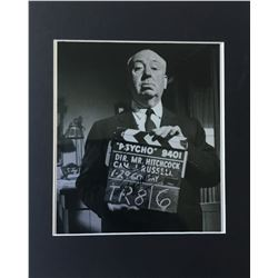 ALFRED HITCHCOCK SIGNED PHOTO.