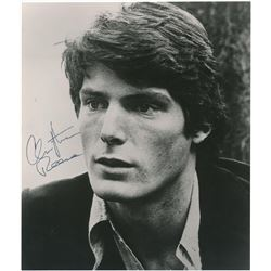 CHRISTOPHER REEVE SIGNED PHOTO.