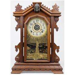 Charles Adams Statue Of Liberty Shelf Clock.
