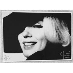 BERT STERN (1929-2013): MARILYN IN THE FEDORA HAT.