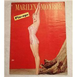 MARILYN MONROE 1953 MACO PIN-UPS MAGAZINE.