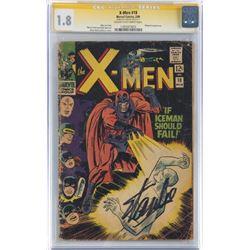 STAN LEE SIGNED THE X-MEN #18.