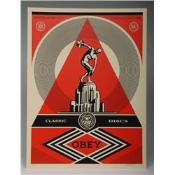 Shepard Fairey Pedestal 2013 Screen Print