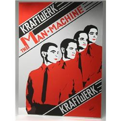 Vintage Kraftwerk The Man Machine.