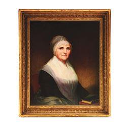 PORTRAIT OF MRS. GEORGE MUSSER BY JACOB EICHOLTZ
