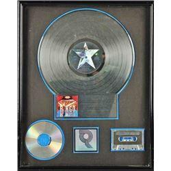 """Ringo Starr """"Ringo"""" Riaa Platinum Award."""