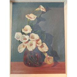 S.M. Corneto oil painting.