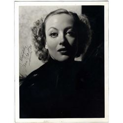 JOAN CRAWFORD SIGNED PHOTO.