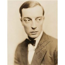 Buster Keaton Signed photo.