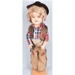 "28"" IDEAL SHIRLEY TEMPLE DOLL"