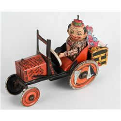 MARX Tin Windup COLLEGE WHOOPEE CAR