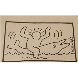 Keith Haring (1958-1990). Untitled.
