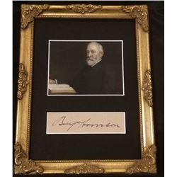 PRESIDENT BENJAMIN HARRISON (1833-1901).