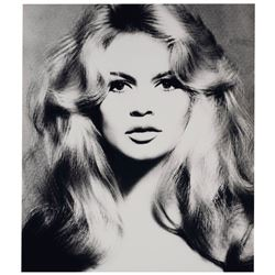 Richard Avedon (1923-2004):Brigitte Bardot, Hair by Alexandre, Paris Studio, Paris, France, January
