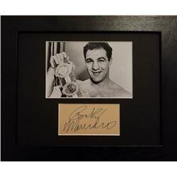 Rocky Marciano (1923-1969)