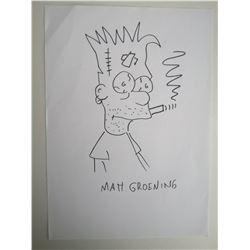 MATT GROENING - Bart Simpson - The Simpsons.