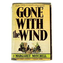 Margaret.Mitchell signed Gone with the Wind book.
