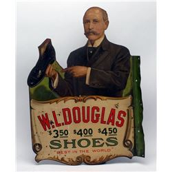 W. L. Douglas Shoes Metal Flange Sign