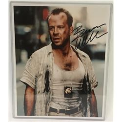 Bruce Willis Signed Photograph.