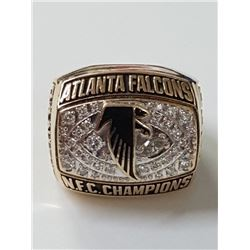 Atlanta Falcons NFC Championship 1998 Football Ring