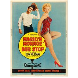 Bus Stop (20th Century Fox, 1956) poster.