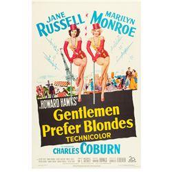 Gentlemen Prefer Blondes (20th Century Fox, 1953). One Sheet