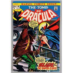 The Tomb of Dracula No. 10 Marvel comic book