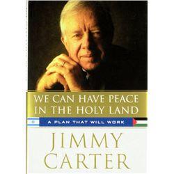 President JIMMY CARTER 1st edition.
