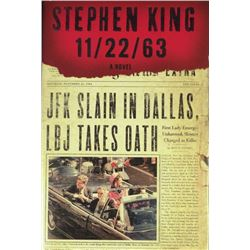 STEPHEN KING SIGNED BOOK.