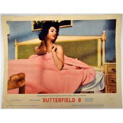Butterfield 8 lobby card.