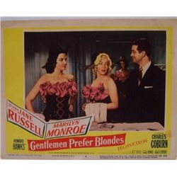 GENTLEMAN PREFER BLONDES LOBBY CARD.