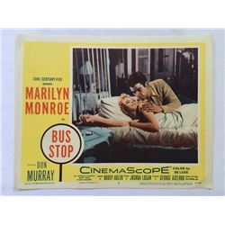 Original 1956 Marilyn Monroe BUS STOP Lobby Card