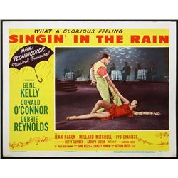 SINGING IN THE RAIN LOBBY CARD.