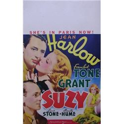 SUZY (1936) WINDOW CARD.