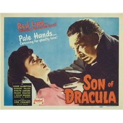 SON OF DRACULA LON CHANEY JR.