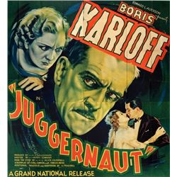 JUGGERNAUT (1936) movie poster.