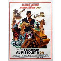 James Bond The Man with the Golden Gun poster.
