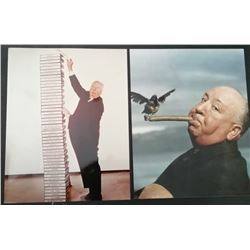 ALFRED HITCHCOCK PRESS PHOTOS.