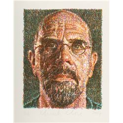 Chuck Close: Self Portrait, 2007 Lithograph.