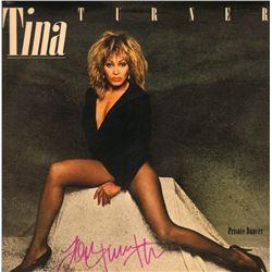 TINA TURNER SIGNED ALBUM.