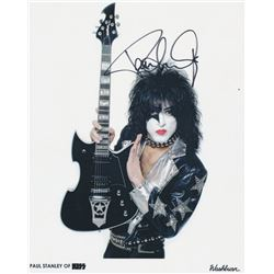 Paul Stanley KISS signed Photograph