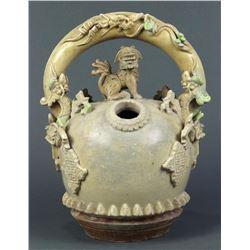 Vietnamese Ceramic Lime Pot