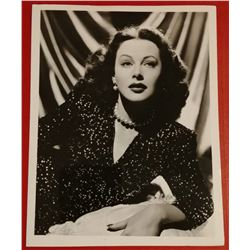 HEDY LAMARR (1914-2000). Vintage photo.
