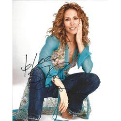 Sheryl Crow signed photo.