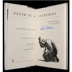 DEATH OF A SALESMAN - SIGNED BY ARTHUR MILLER.